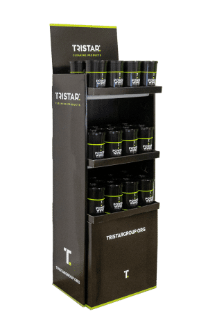 TriStar Display + 200 Power/Hygiene Wipes